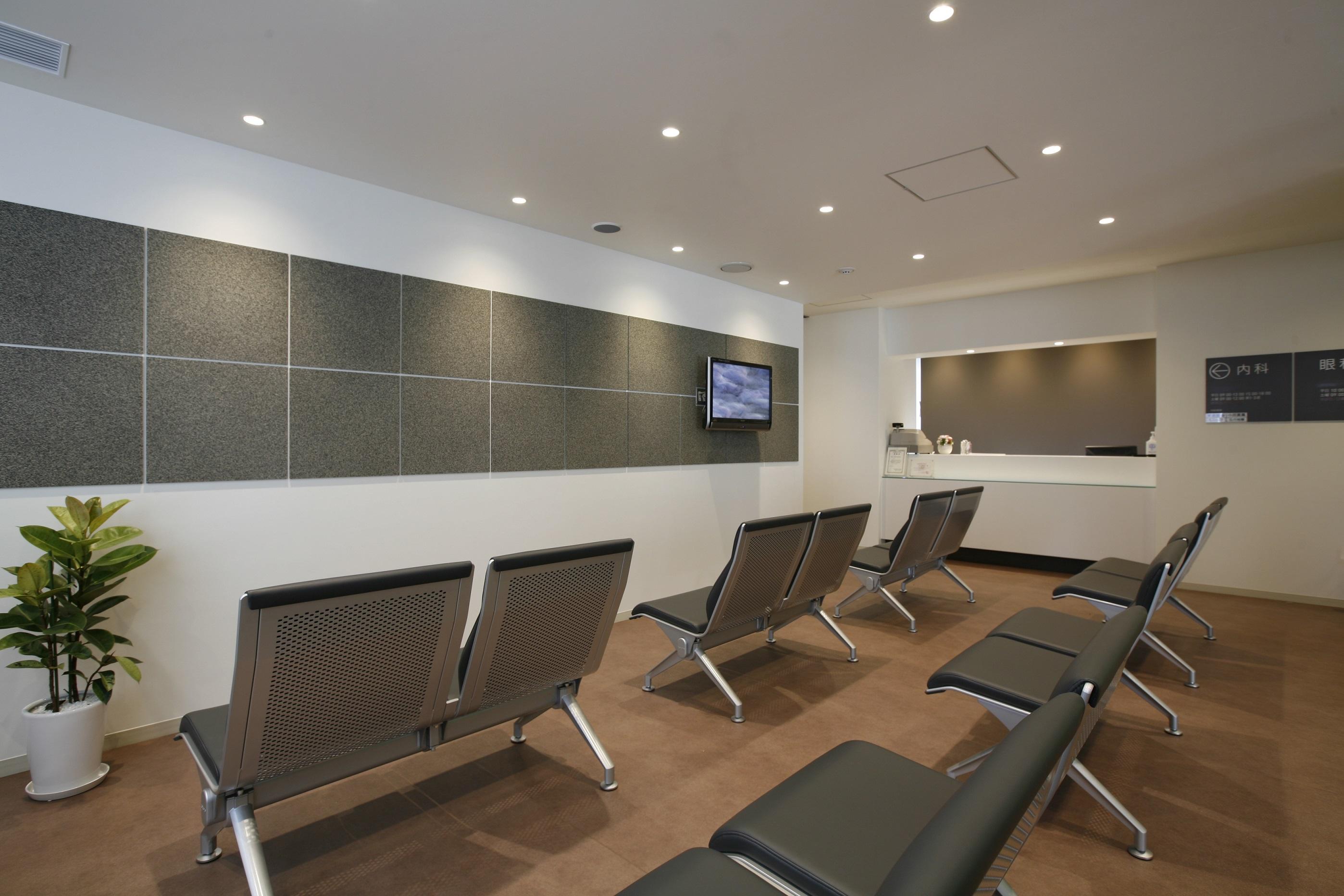 東京港診療所 待合室